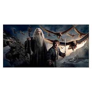 Hobbit. Размер: 120 х 60 см